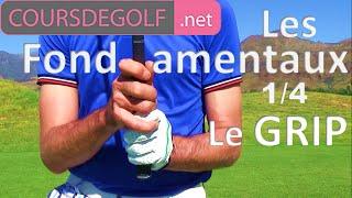 Les fondamentaux golf #1/4 : Le grip par Renaud Poupard