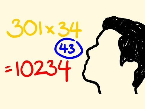 Fast math trick for instant multiplication!