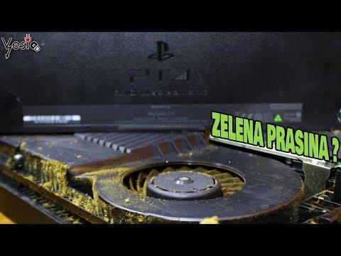 Kako ocistiti Sony PS 4 od prasine