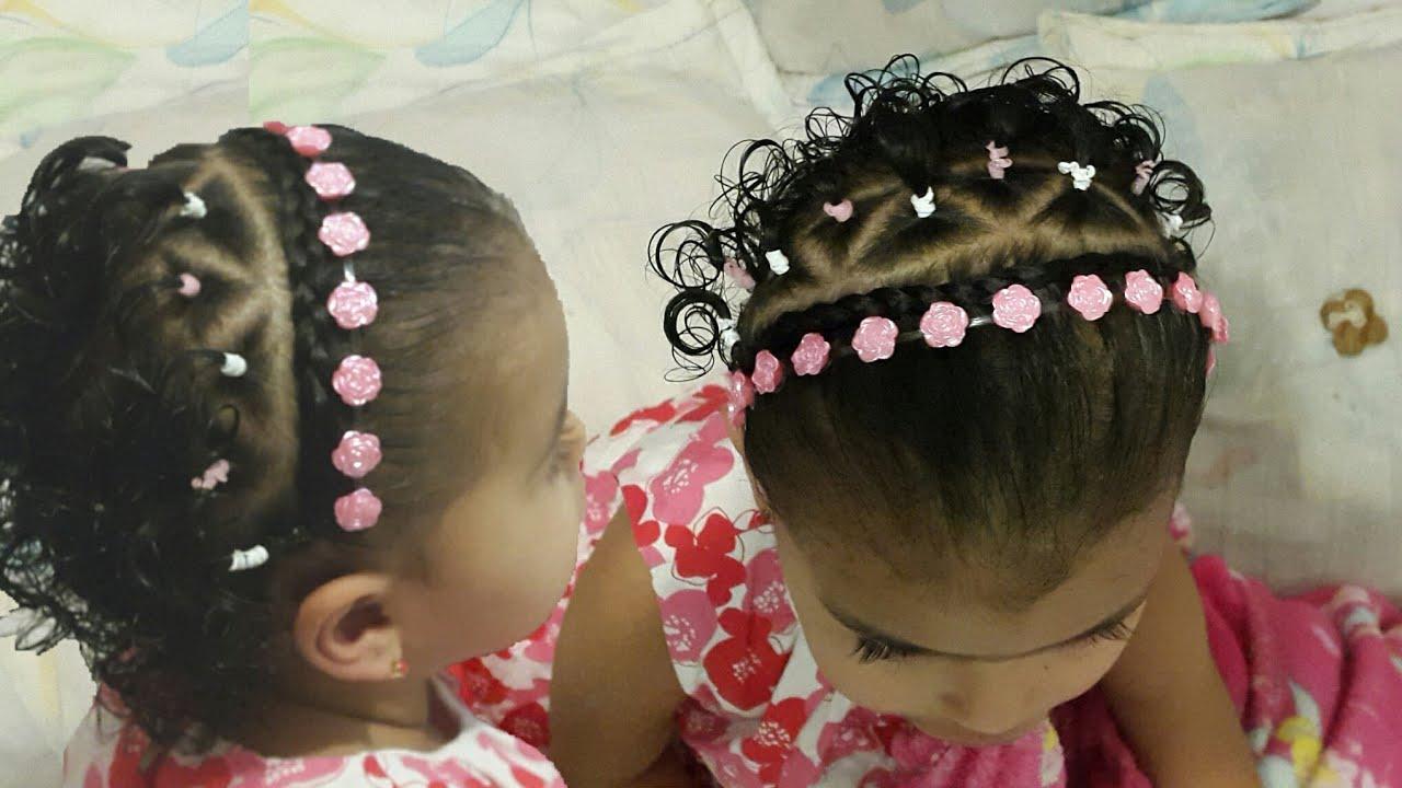 Peinados Para Bebes Con Ligas Cabello Corto Peinados Y Peinados De
