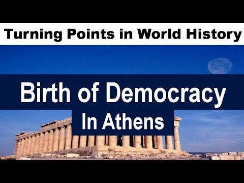 Democracy : It's Origin In Athens - World History Series In Hindi By Saar Concepts