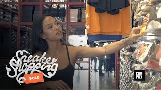Download Karrueche Tran Goes Sneaker Shopping with Complex Mp3 and Videos