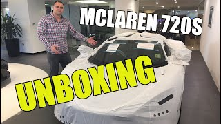 The title says it all, unboxing a brand new McLaren 720S Supercar, ...