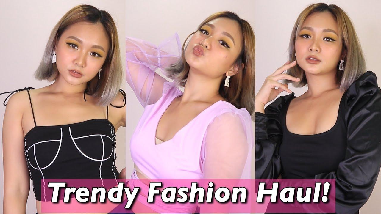 LAZADA MURANG TRENDY TOPS AND DRESS HAUL + DRESS GIVEAWAY!  Lou Sanchez