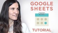 Google Sheets Tutorial: Create a Social Media Content Calendar