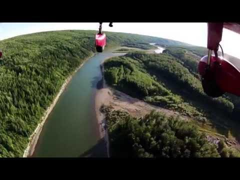 Flying around Grande Prairie, Alberta - CYQU