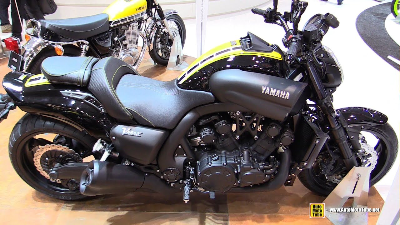 2016 yamaha vmax 60th anniversary walkaround 2015 eicma milan youtube. Black Bedroom Furniture Sets. Home Design Ideas