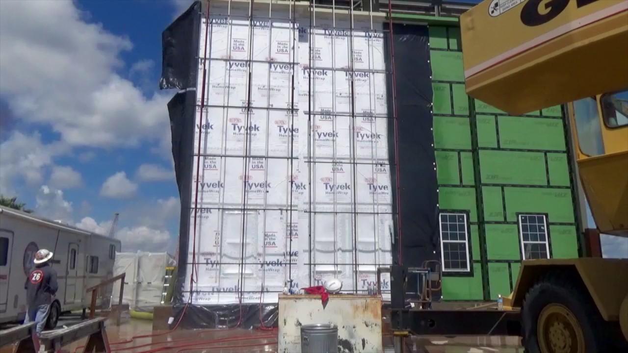 More wall? No problem for DuPont™ Tyvek® HomeWrap™