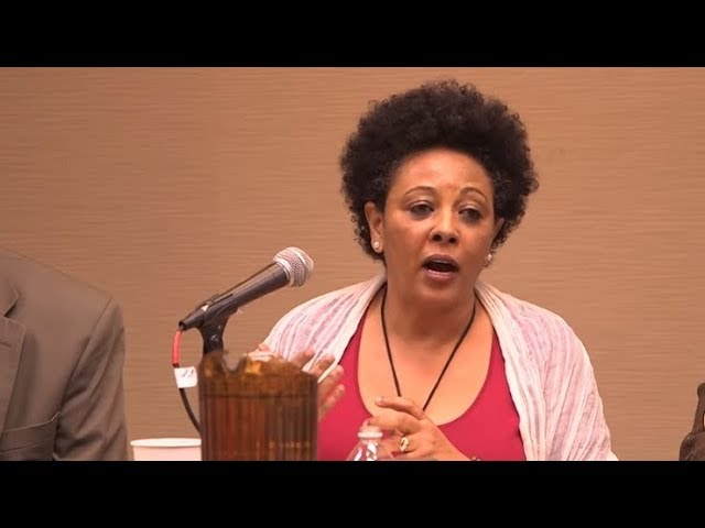 Dr Abeba Fekade speaks about ethnic-based struggle/ Amhara struggle & Ethiopia as united