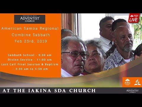 American Samoa Regional Sabbath Divine Service