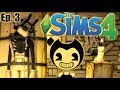 BORIS NOOOOOOO The Sims 4 Bendy And The Ink Machine Ep 3 mp3