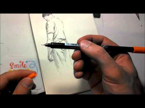 How to draw- From Pencil to Pen to Brush Marker PLUS Drawing Tips