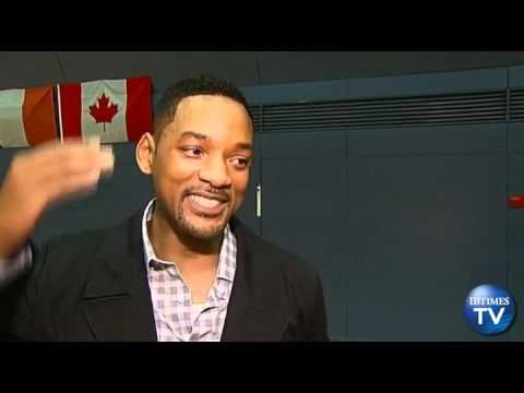 Will Smith Tests His Sporting Skills With 2012 Olympic Athletes in London