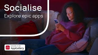 Socialise with AppGallery