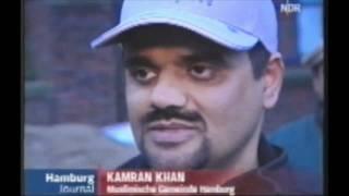 NDR TV Bericht - Islam Ahmadiyya Jamaat Hamburg machen Neujahresputz
