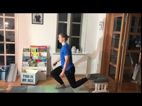 Dag 2  Bulgarian split squat