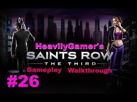 Saints Row The Third Gameplay Walkthrough Part 26:Three Way (Kill Killbane),I Have A Tank