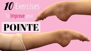 How To Improve Your Pointe || Exercises to improve your pointe!