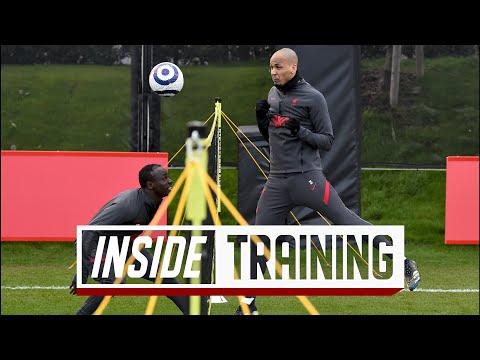 Inside Training: Shooting practice, five-a-side & head tennis | Mane vs Thiago, Alisson scores!