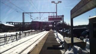 Regional, Acela and Commuter Rail at Canton Junction