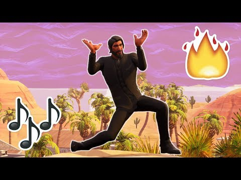 Fortnite Dances BUT with the actual music