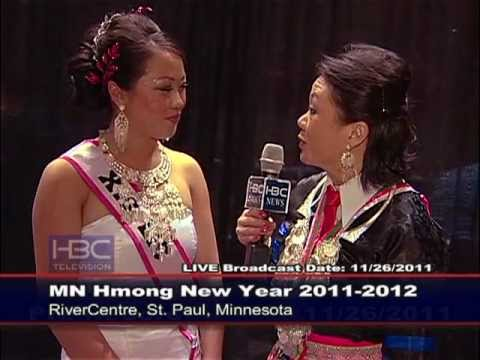 HBC News - MN Hmong New Year 2012 Interviews with Attendees.