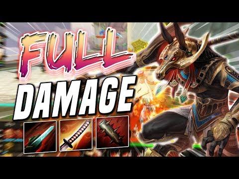 Smite: Set FULL DAMAGE BUILD - Set IS THE MOST FUN GOD!