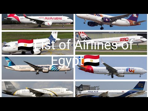 List of Airlines of Egypt | Aviation BD