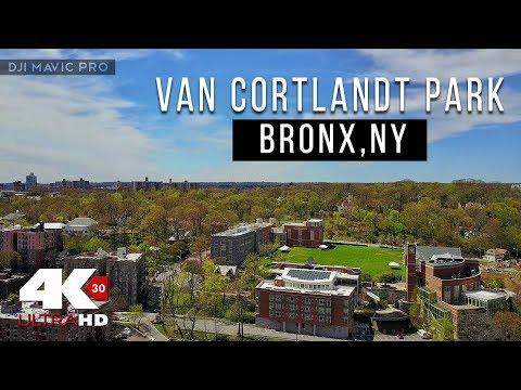 DJI Mavic Pro - Van Cortlandt Park . Bronx , NY (4K)