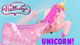 Video Flutterbye Flying Unicorn Toy Review - How Well Does She Fly? download MP3, 3GP, MP4, WEBM, AVI, FLV November 2017