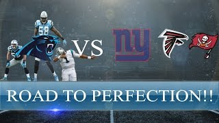 Madden 16 Gauntlet Gameplay - PANTHERS ON THE ROAD TO PERFECTION!! LAST ROADBLOCKS