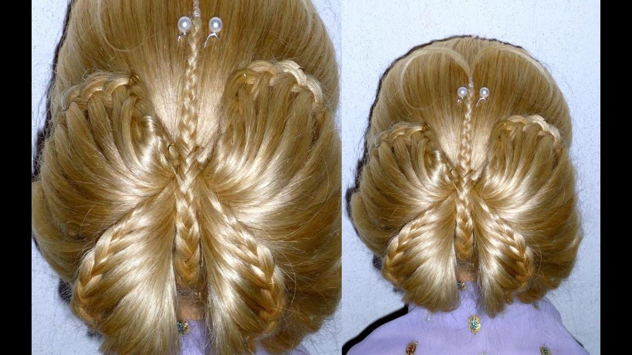 причёски на средние волосы для девочек инструкция