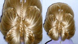 Плетение косичек/волос Мастер класс .