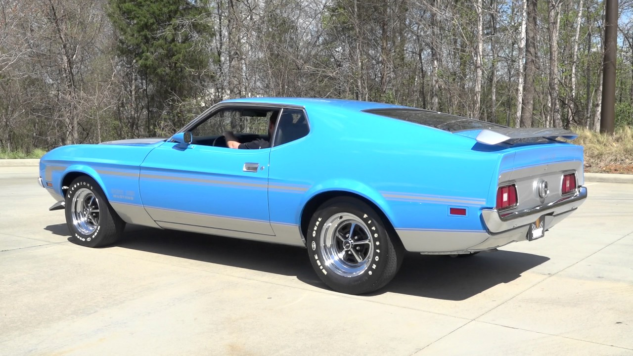 135919 1971 ford mustang boss 351