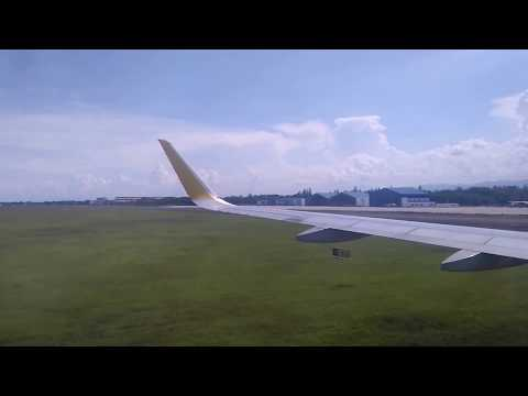 Landing at New Mactan-Cebu International Airport