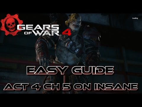 Gears Of War 4: How To Beat The Swarmak Boss Easy On Insane!