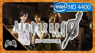 Resident Evil 0 HD Remaster Gameplay Intel HD Graphics #138