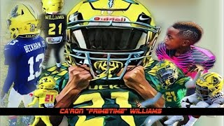 ca ron williams   baby prime time   8u ie ducks   training highlights