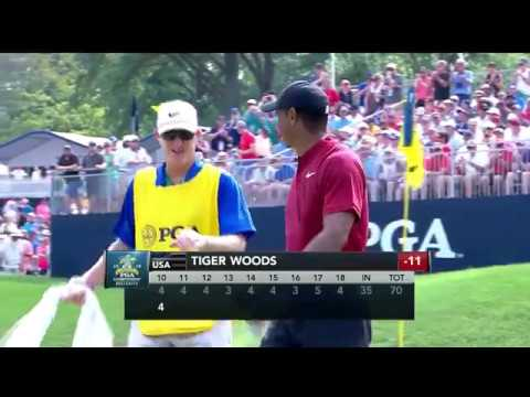 2018 PGA Championship - Live Look-In of Tiger Woods and Gary Woodland | Final Round