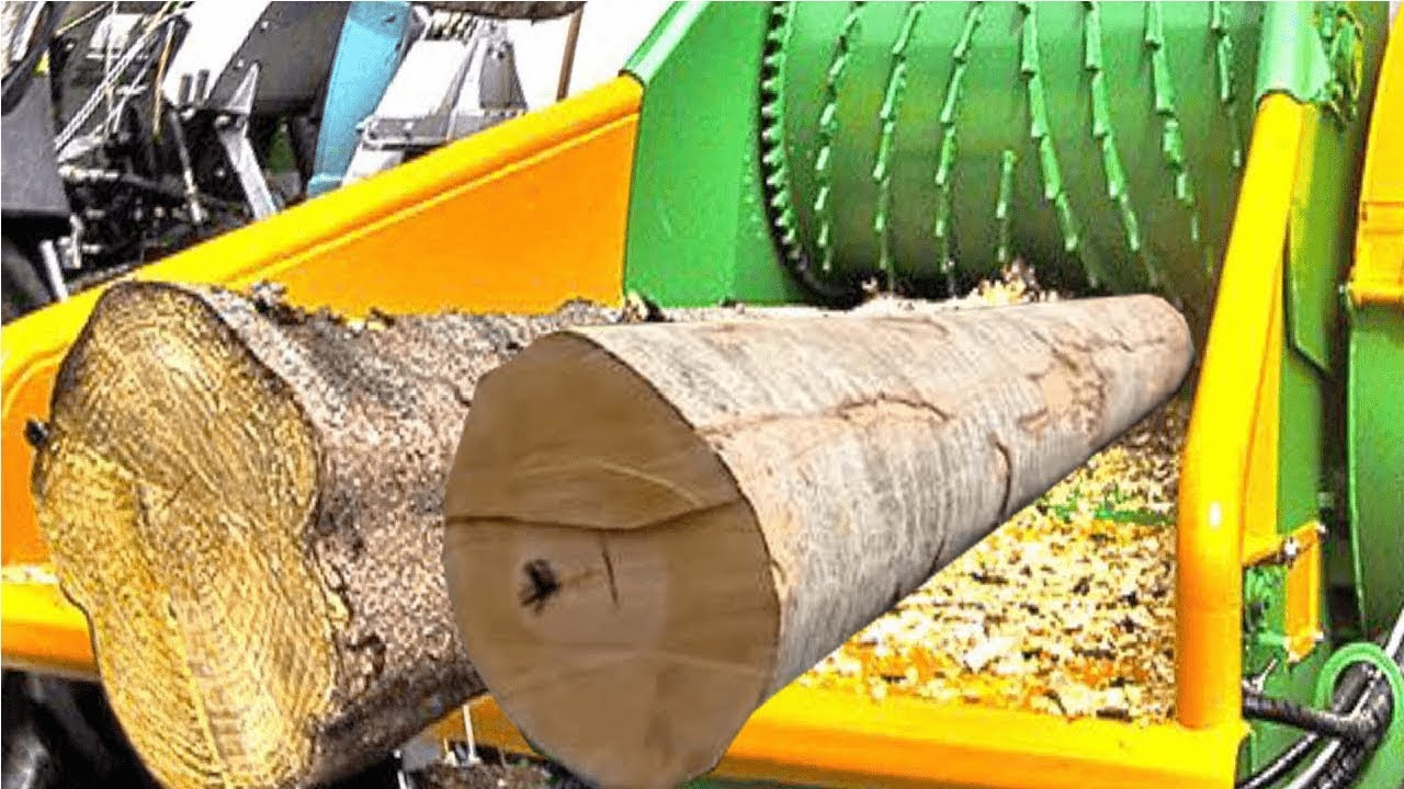 Amazing Biggest Wood Chipper Machines Extreme Fast Tree