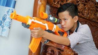 Chi Bn Sng Nerf Cuc Chin Li n Qu n Mobile Nerf War Arena of Valor Battle Shot