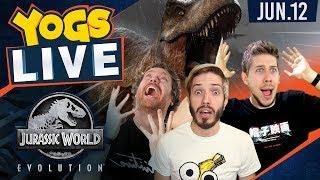 Jurassic World Evolution! w/ Hat Films - 12th June 2018