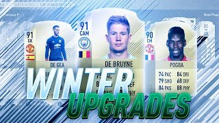 Winter Upgrade Investments - FIFA 18