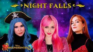 Descendientes 3 - Night Falls (En Español) Hitomi Flor   Amanda Flores   Lala