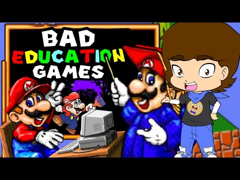 Mario's BAD Educational Games! - ConnerTheWaffle
