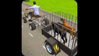 Dog Bike Game - Carrier Games - Stroller Driving for Kids - Kids Cars - kids games car screenshot 3