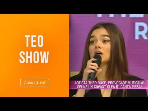 Teo Show (08.02.2019) - Artista Theo Rose, schimbari in cariera! Colaboreaza cu Dj Project!