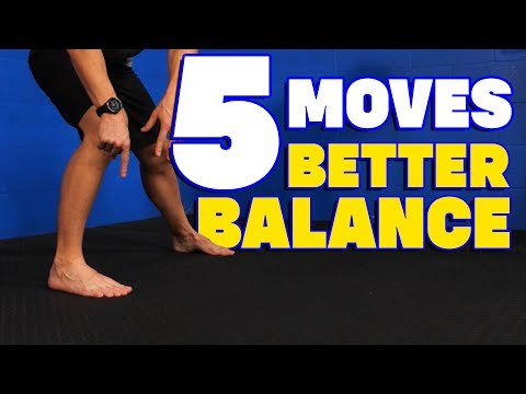 5 EFFECTIVE Balance Exercises for STRONG Feet & Ankles (IMPROVE Your Balance!)