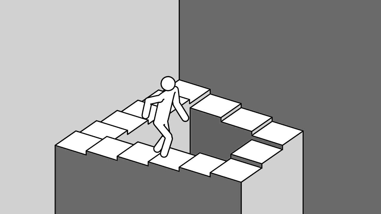 3d Painting Hd Wallpaper Escher Penrose Stairs Youtube