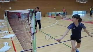 クロスネットの技術(フォア&バック小学生男女5選手)